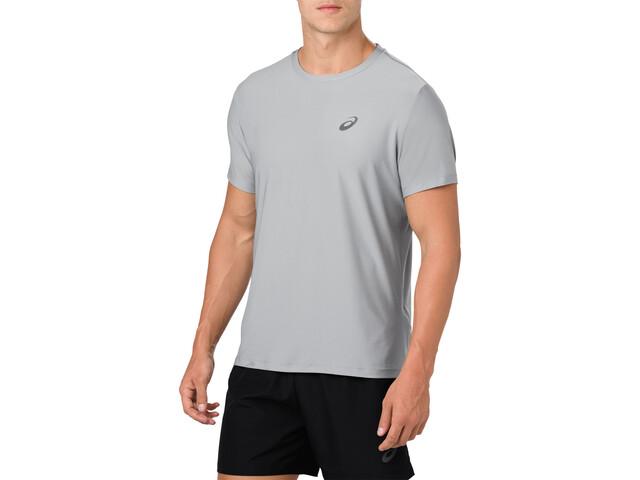 asics SS Top - Camiseta Running Hombre - gris